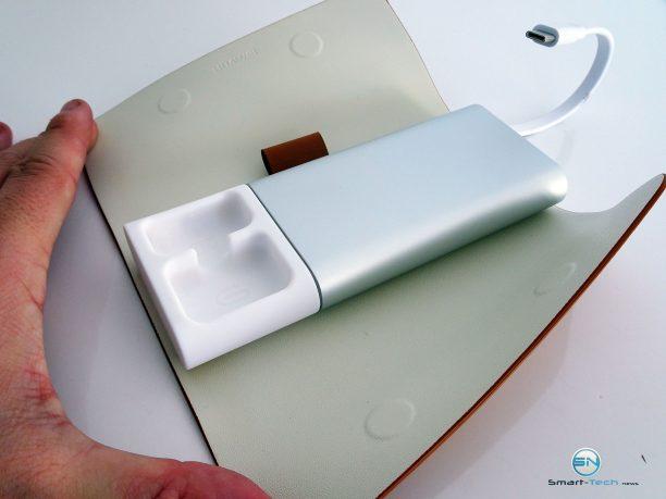 Huawei MateBook - SmartTechNews - MateDock aufgeklappt