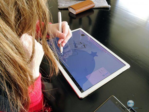Huawei MateBook - SmartTechNews - Produktivität beim Zeichnen
