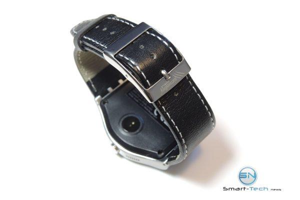 Lederarmband - Simvalley SW-180hr - SmartTechNews
