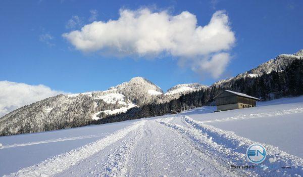 Schneeschuhwanderspur - Huawei Mate 9 - SmartTechNews