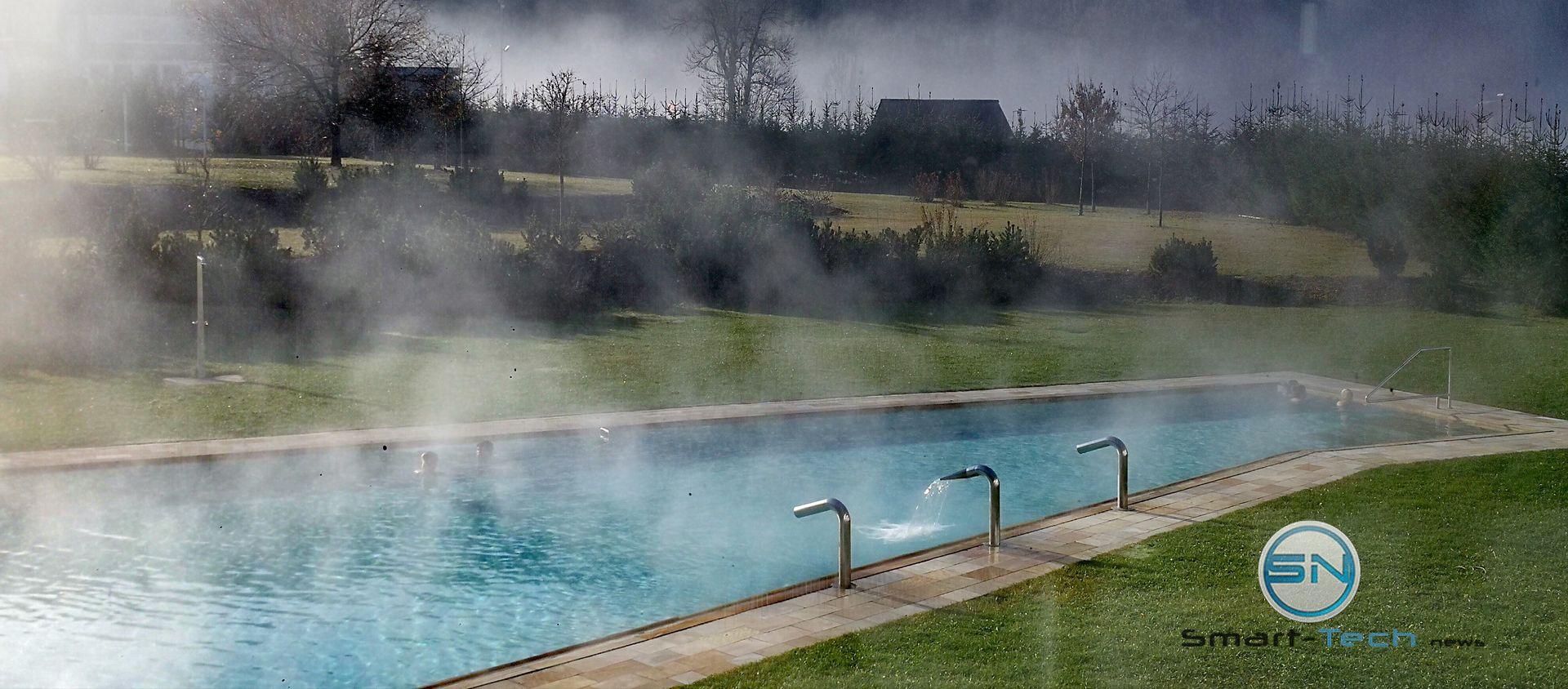 frostiger morgen am Pool - Huawei Mate 9 - SmartTechNews