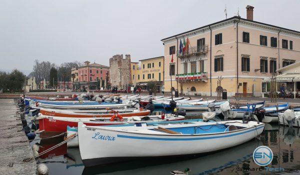 Boote im Hafen Bardolino - Samsung A3 2017 - SmartTechNews