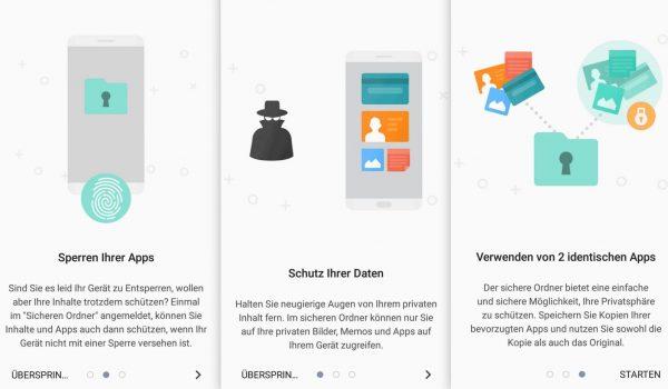 Sicherer Ordner - Samsung Galaxy A3 - SmartTechNews