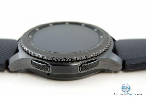 Bedientasten - Samsung Gear S3 - SmartTechNews
