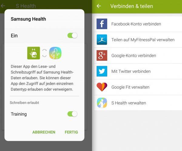 Endomondo und externe Quellen - Samsung Gear S3 - SmartTechNews