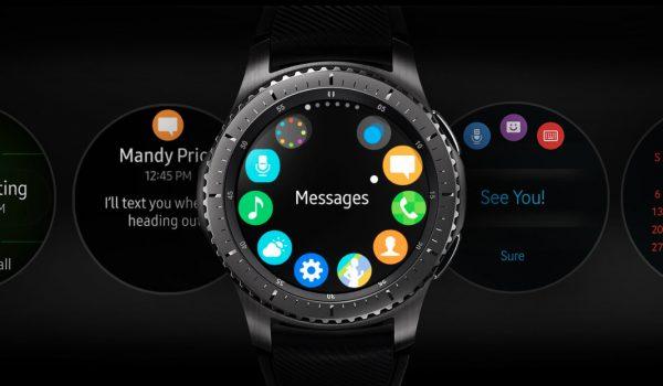 Menü Ring - Samsung Gear S3 - SmartTechNews