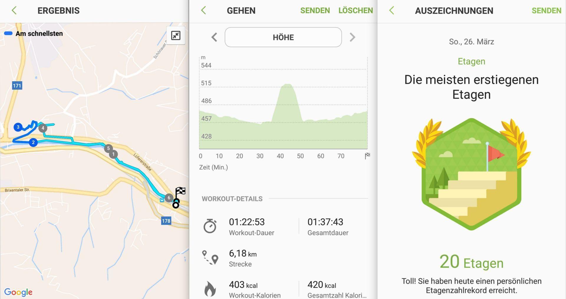 Spazieren Etagen Rekord - Samsung Gear S3 - SmartTechNews