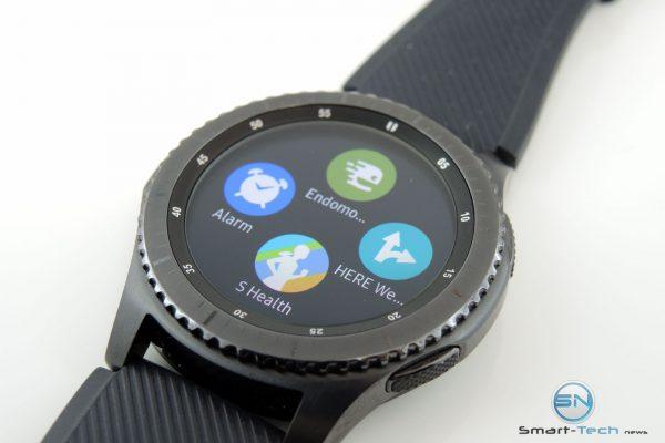 Sport Widgets Übersicht - Samsung Gear S3 - SmartTechNews