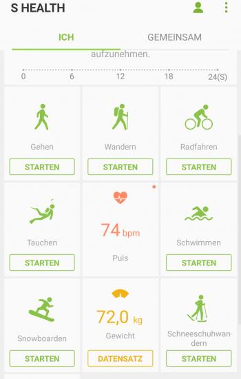 bevorzugte Training App Samsung Gear S3 - SmartTechNews