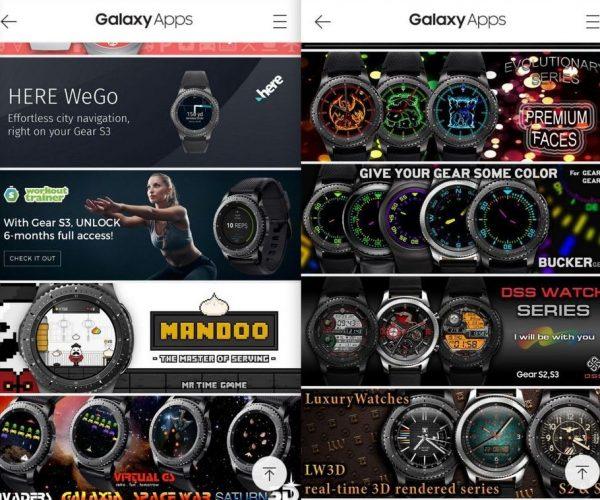 mobile 2 App Auswahl - Samsung Gear S3 - SmartTechNews