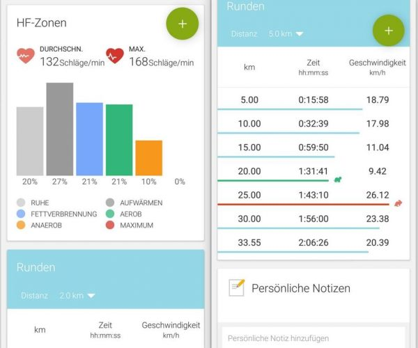 mobile 2 Endomondo on Samsung Gear S3 - Leistungsdaten - SmartTechNews