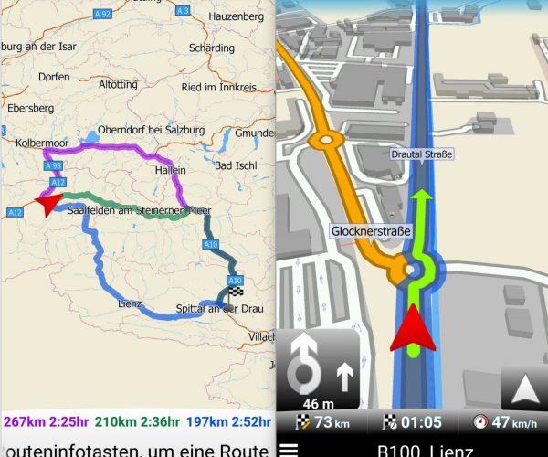 MapFactor Navigator Routen Option - SmartTechNews