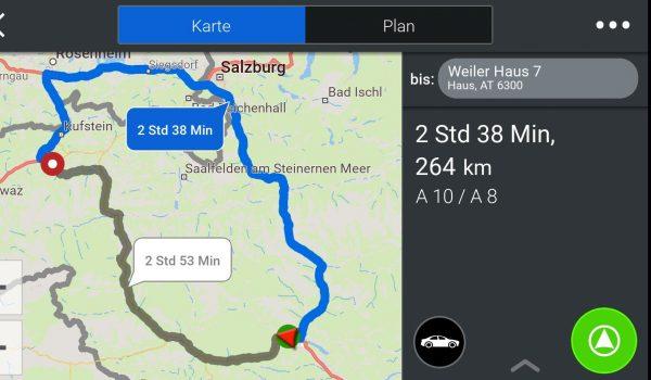 Routen Info Strecken Auswahl - CoPilot - SmartTechNews