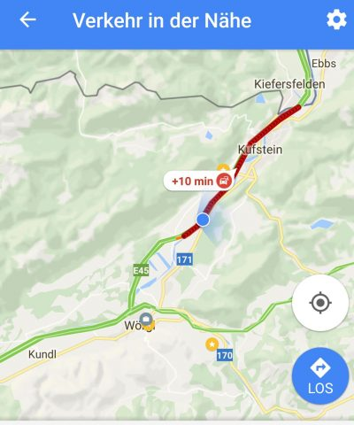 Stau Meldung inaktive Navigation Google Maps - SmartTechNews