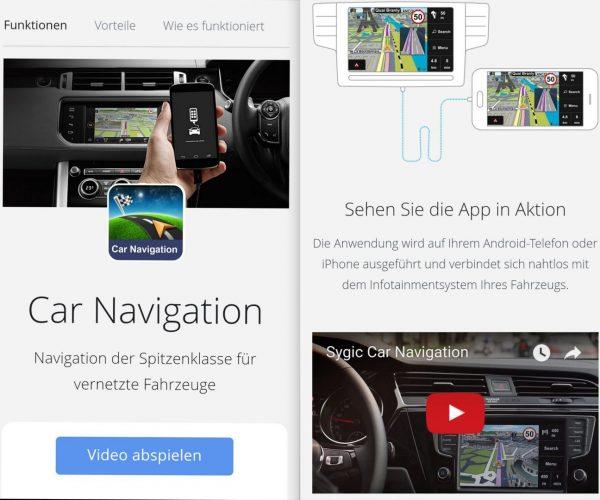 Sygic Car Demo Video