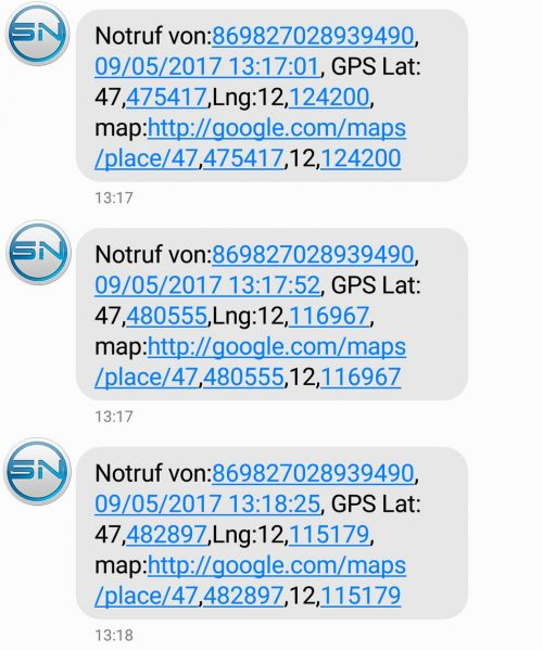 pe-sos SMS Notfall - SmartTechNews