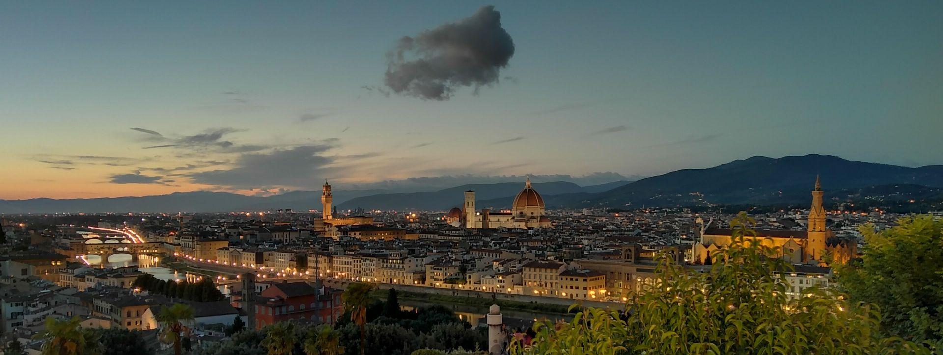 Aufnahme - Stativ - Smartphone Huawei - Toskana - Florenz