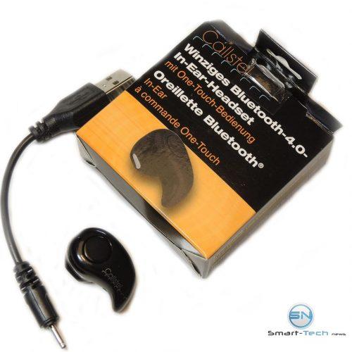 Unboxing InEar Bluetooth Kopfhörer - SmartTechNews
