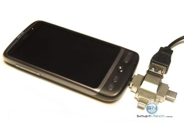 4in1 Card Reader - HTC Desire Daten - SmartTechNews