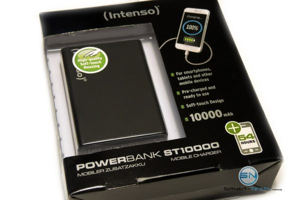 Set Intenso 10000mAh PowerBank - SmartTechNews