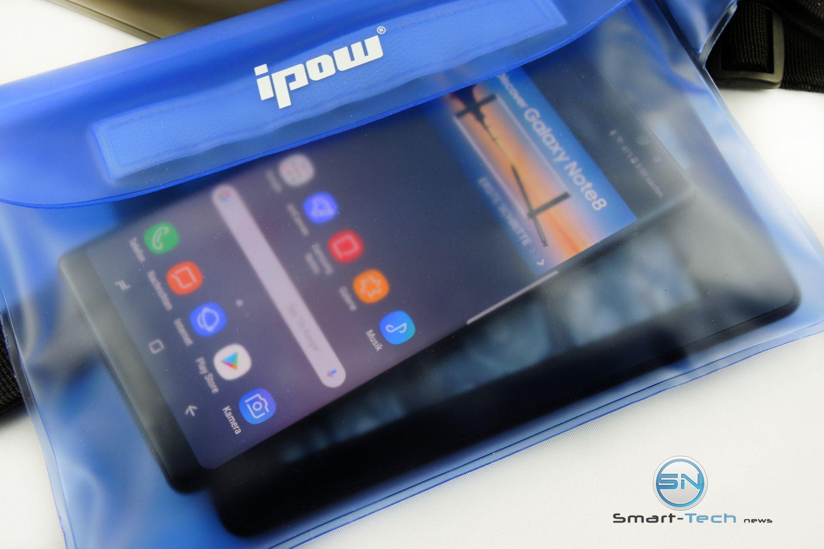 Ipow wasserdichte Tasche für Smartphones, iPadmini, Diving Card und eReader