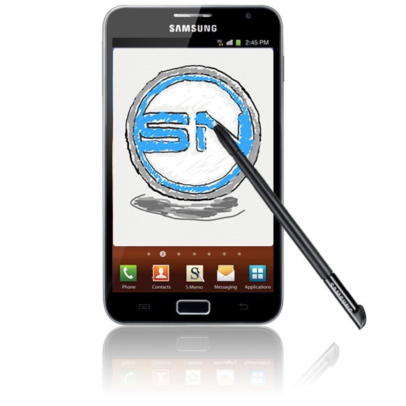 Kreativ betrachtet – Samsung Galaxy Note N7000