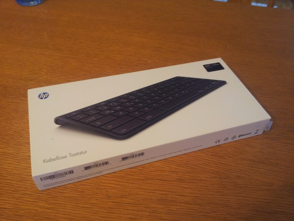 Testbericht: HP webOS Bluetooth Tastatur