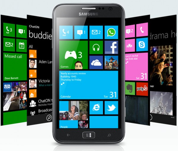 Samsung Ativ S – Windows Phone 8 Smartphone