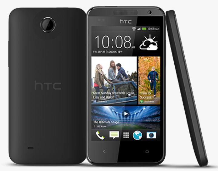 HTC Desire 300 – Aktuelles Design mit günstiger Hardware