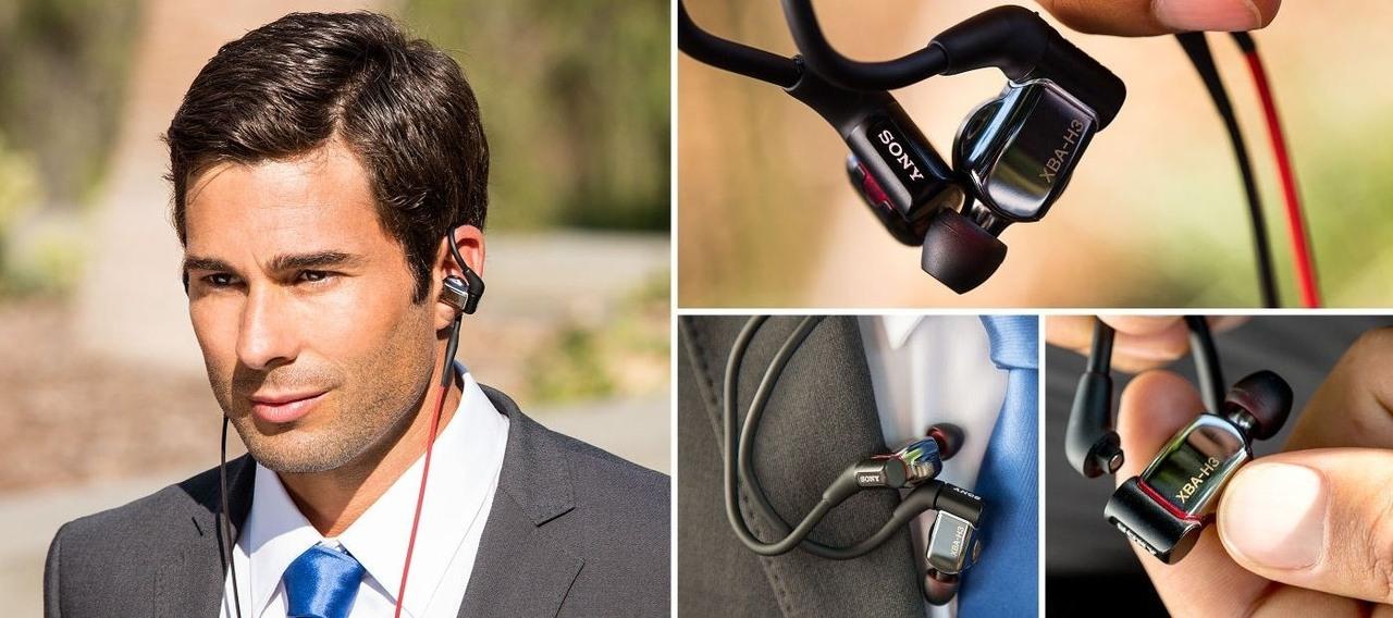 Sony XBA-H3 Ohrhörer mit Balanced Armature
