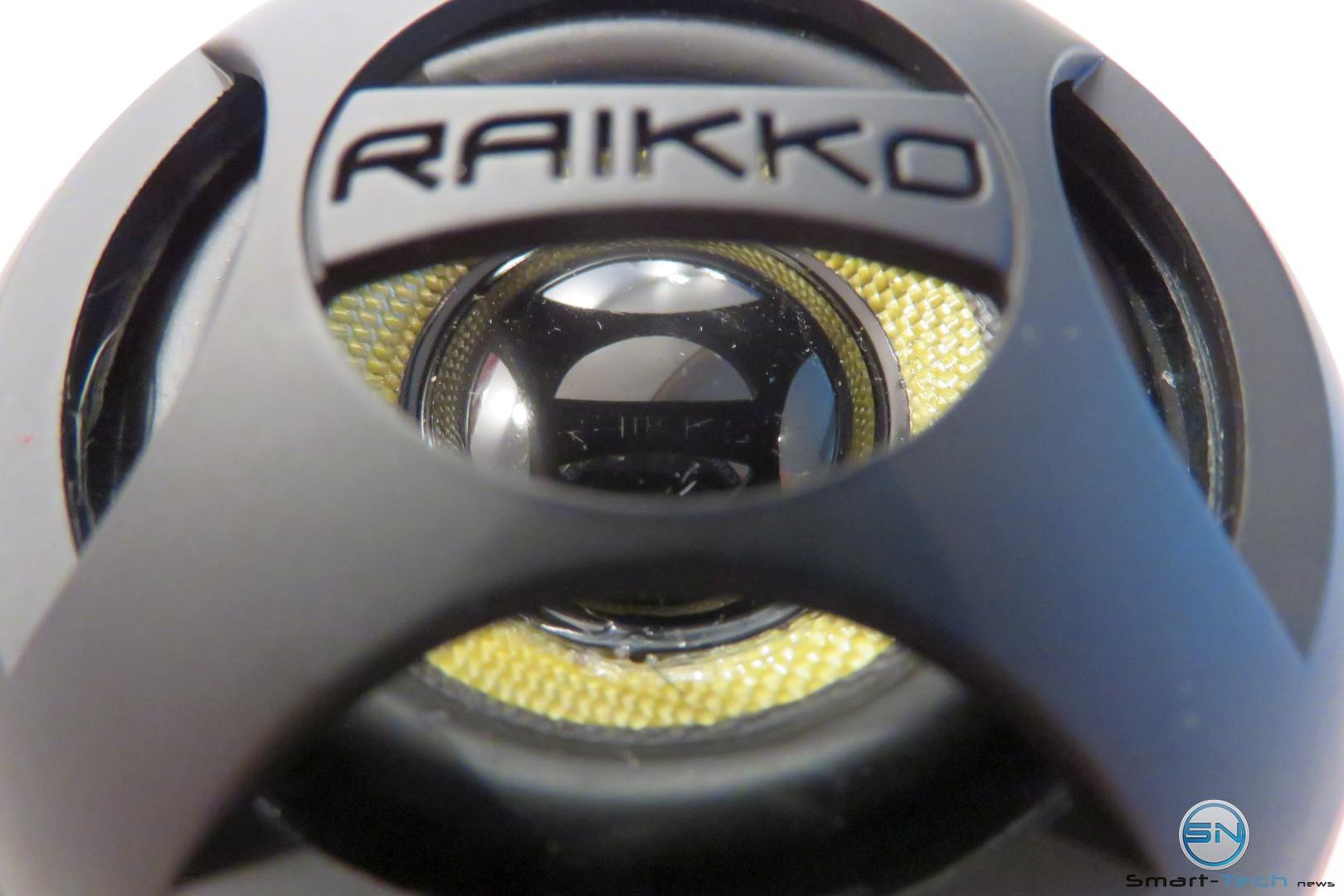 Raikko Dance Bluetooth mit Kevlarmembran im Test