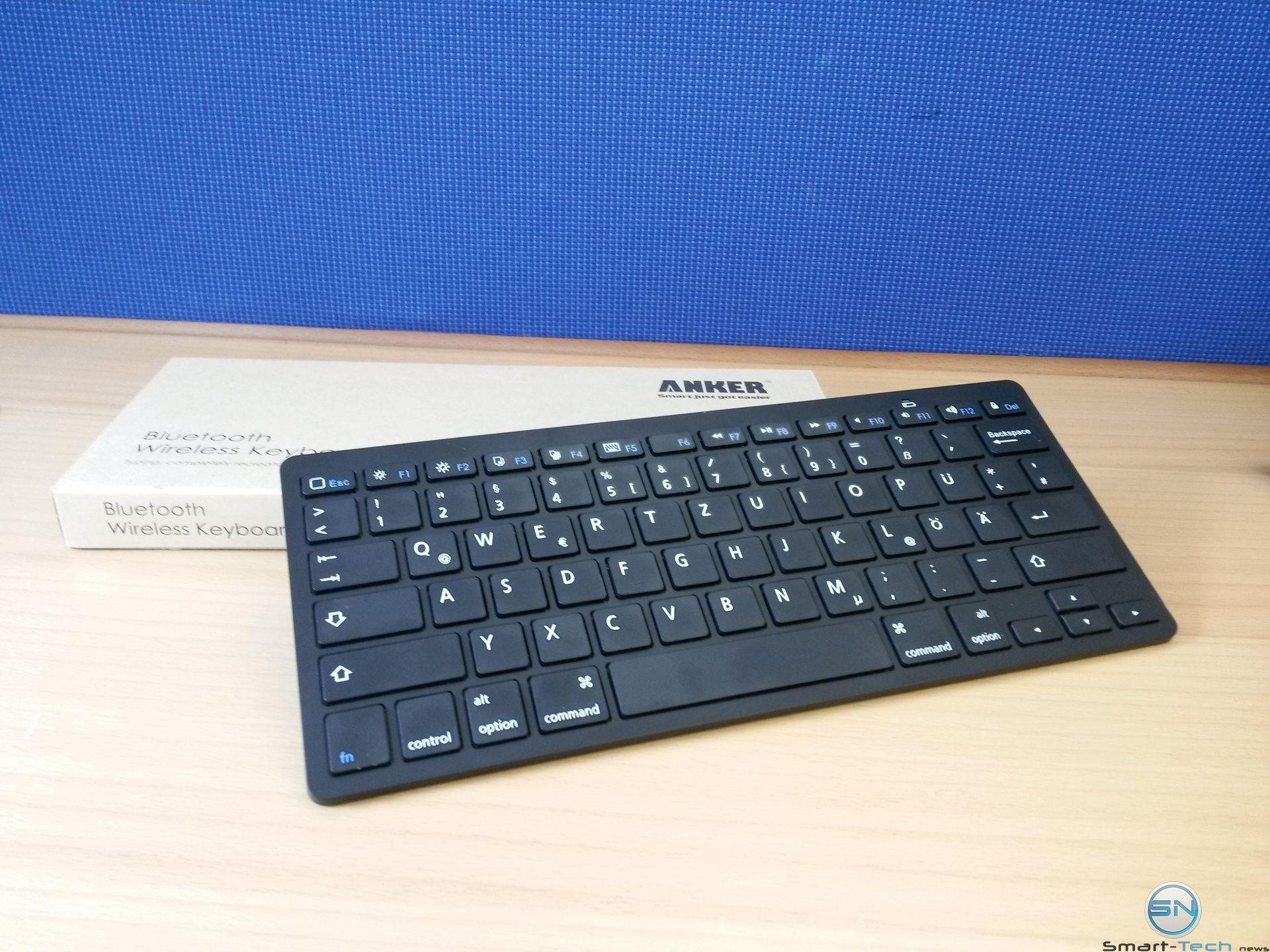 Anker Bluetooth Tastatur im Gadget-Test