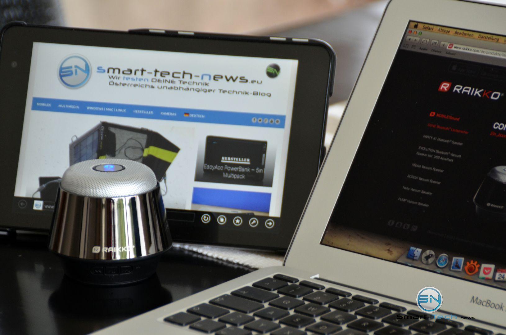 Raikko Cone – der elegante Bluetooth Lautsprecher