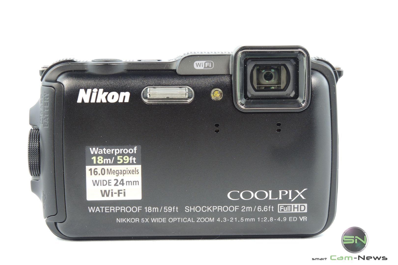 Front Ansicht - Nikon AW120 - SmartCamNews
