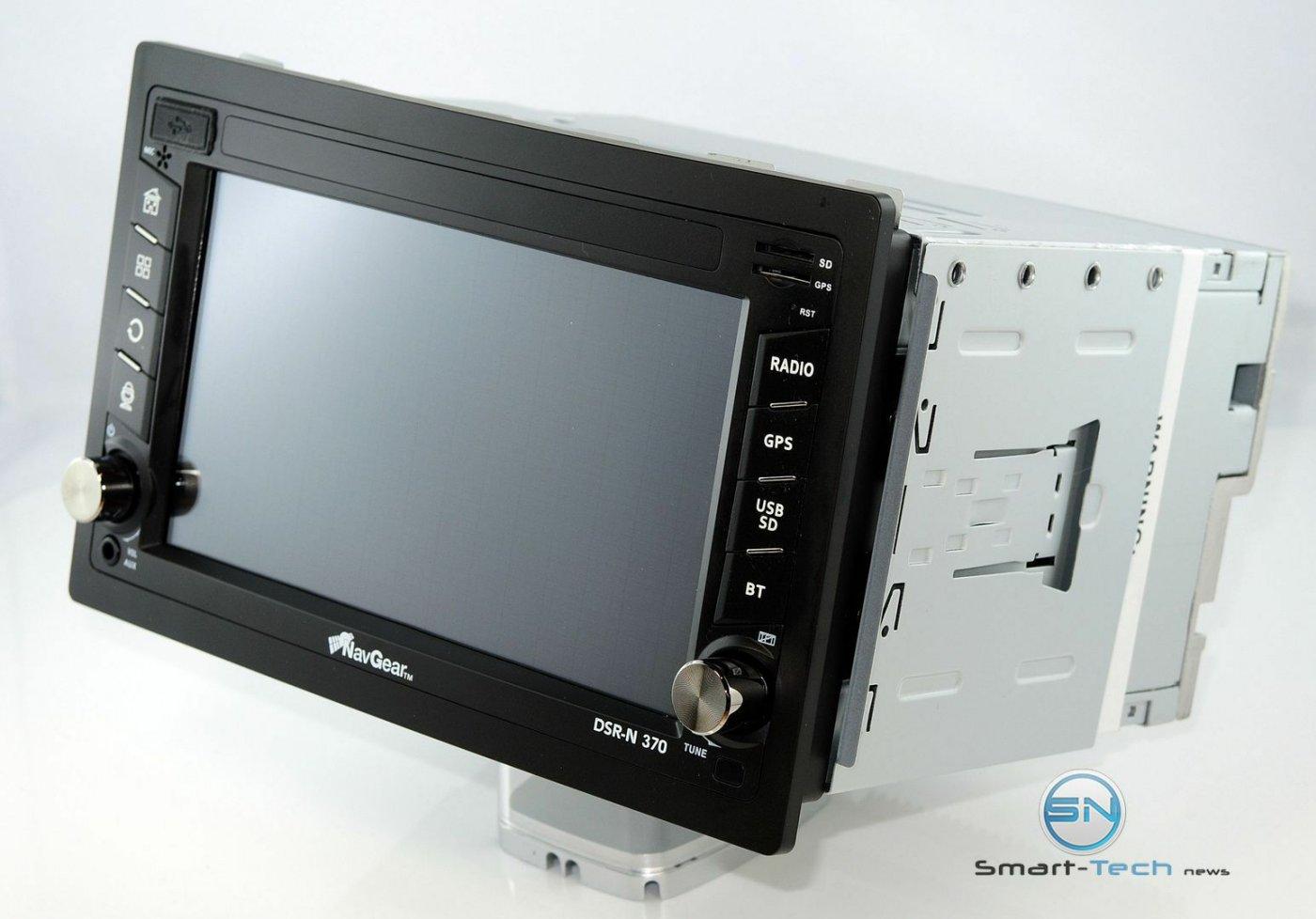 NavGear 2-DIN Android-Autoradio DSR-N 370 mit Navi für D-A-CH, GPS, WiFI, BT2, MirrorLink
