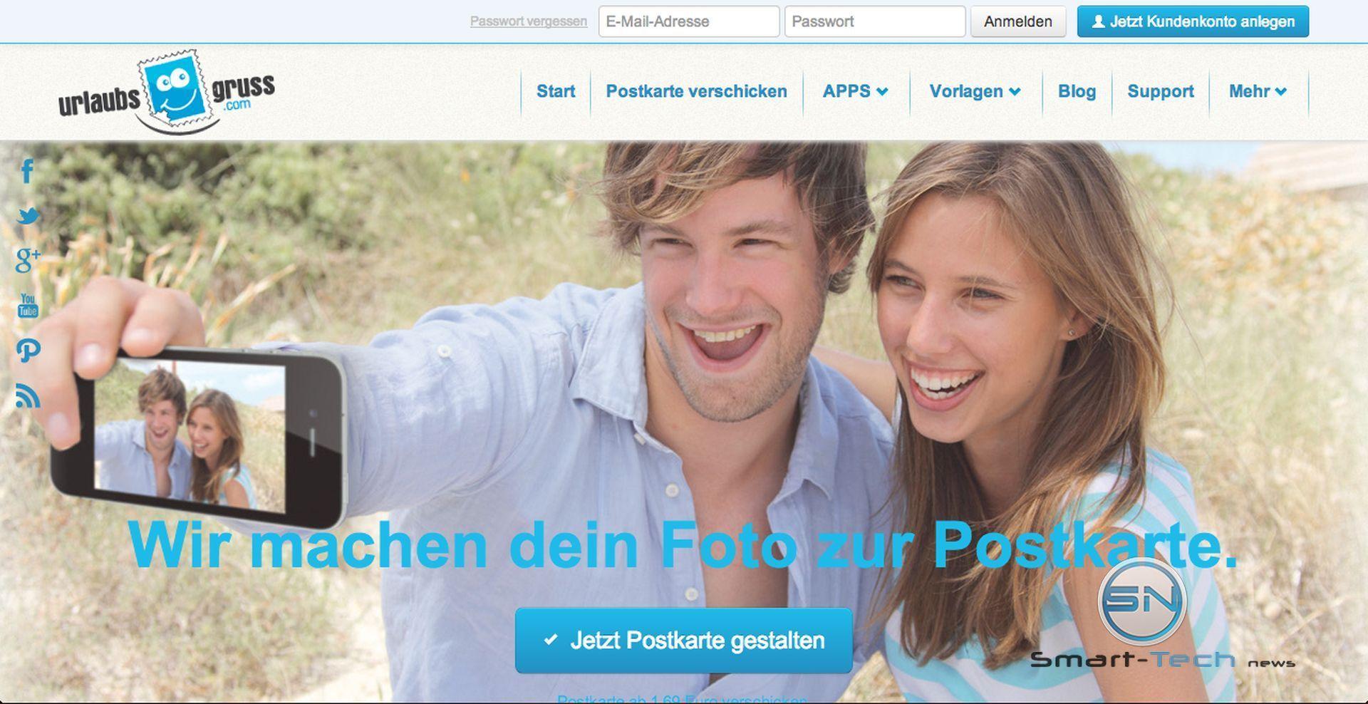 Urlaubsgruss.com  – Grußkarte mit persönlichem Touch