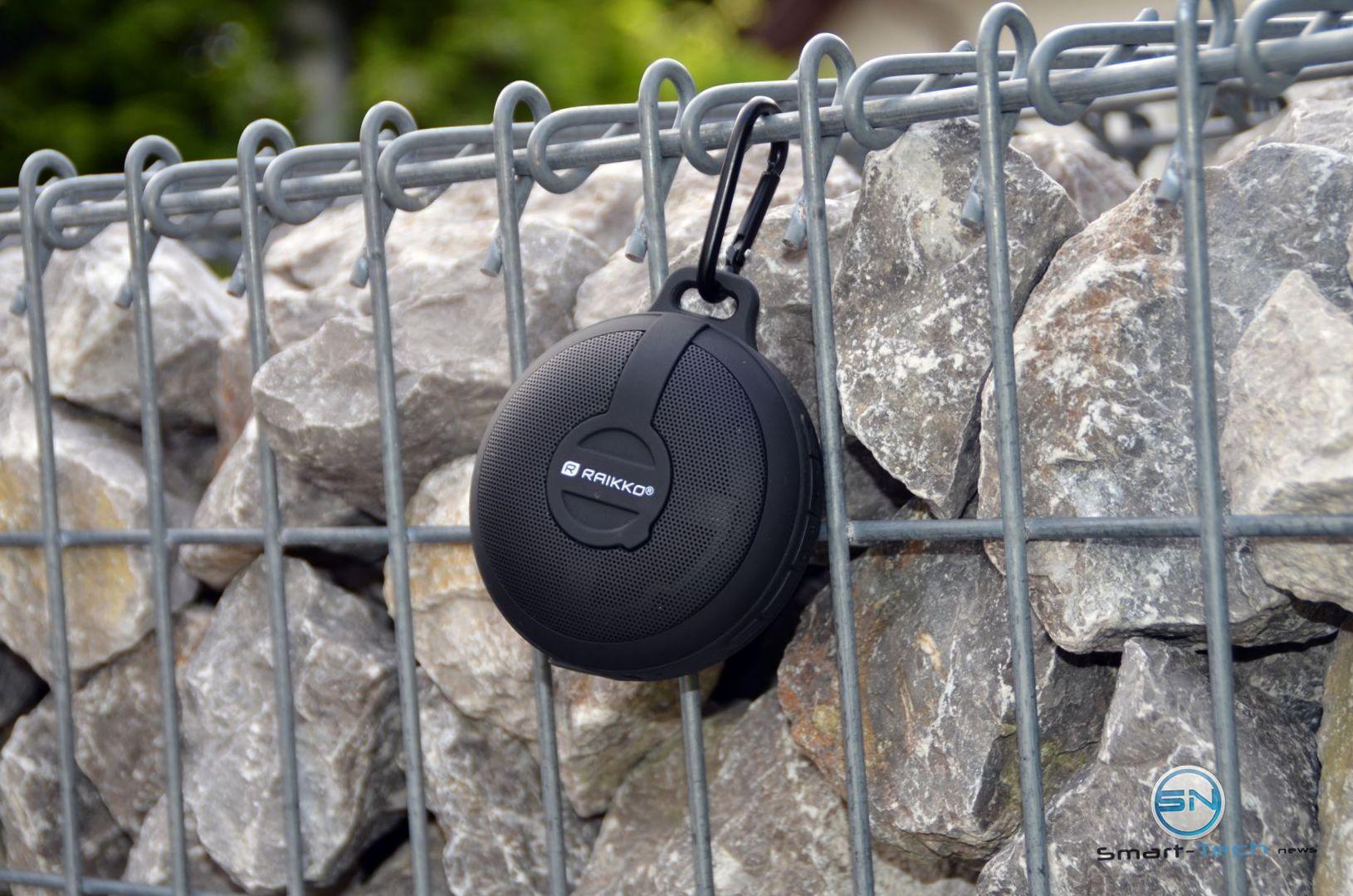 Raikko Bass Disc im Outdoor-Einsatz