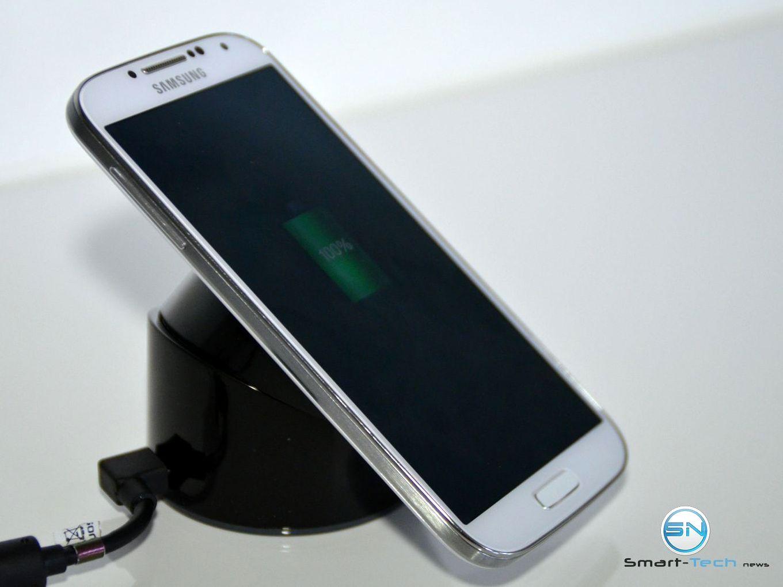 Wireless Charging mit dem Aukey Q19 Ladegerät sowie dem Receiverpad für das S4