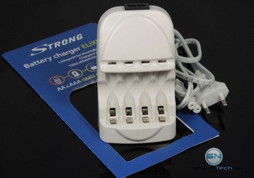 Unboxing - Einwegbatterien Stronge Battery Charger Elixia - SmartTechNews