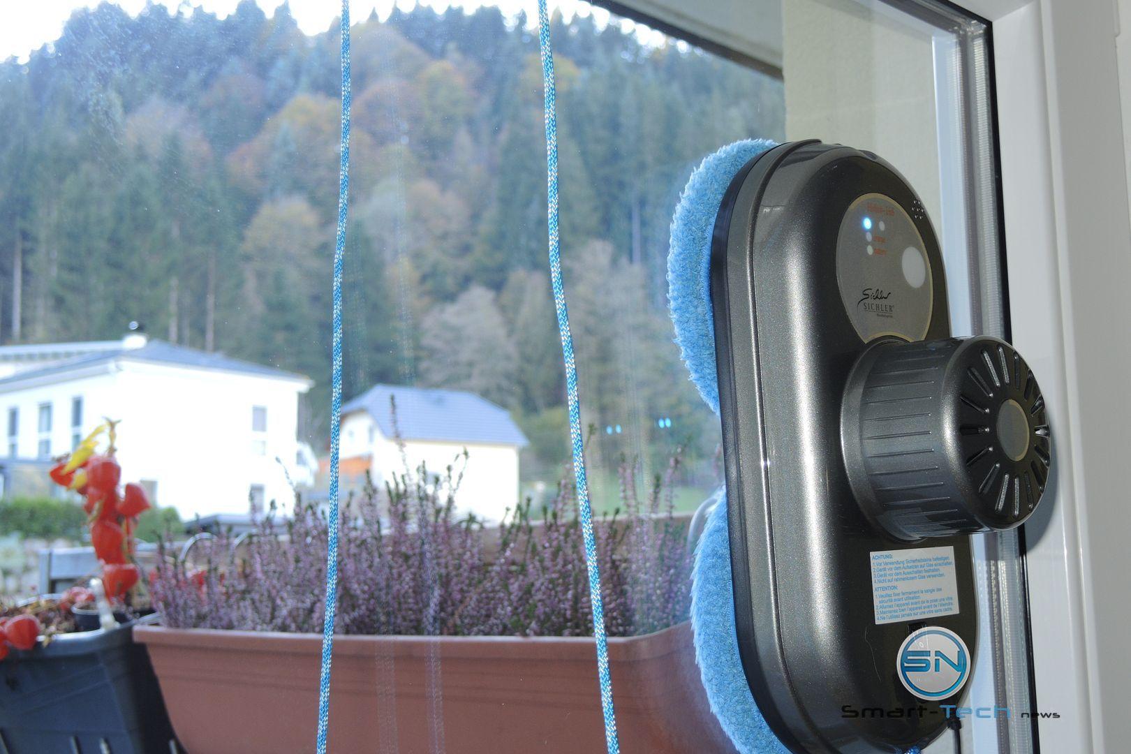 Großglasflächen - Fensterputzroboter Sichler - SmartTechNews