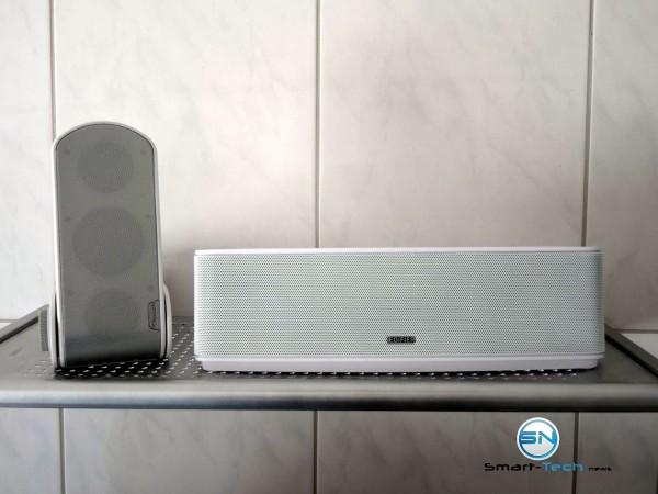 Klipsch GiG Music Center Soundbox vs Edifier Bric Bluetoth - SmartTechNews