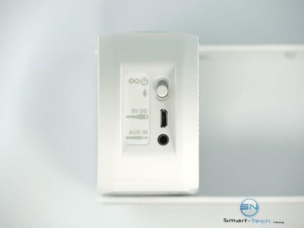 Power - AUX - Klipsch GiG Music Center Soundbox - SmartTechNews