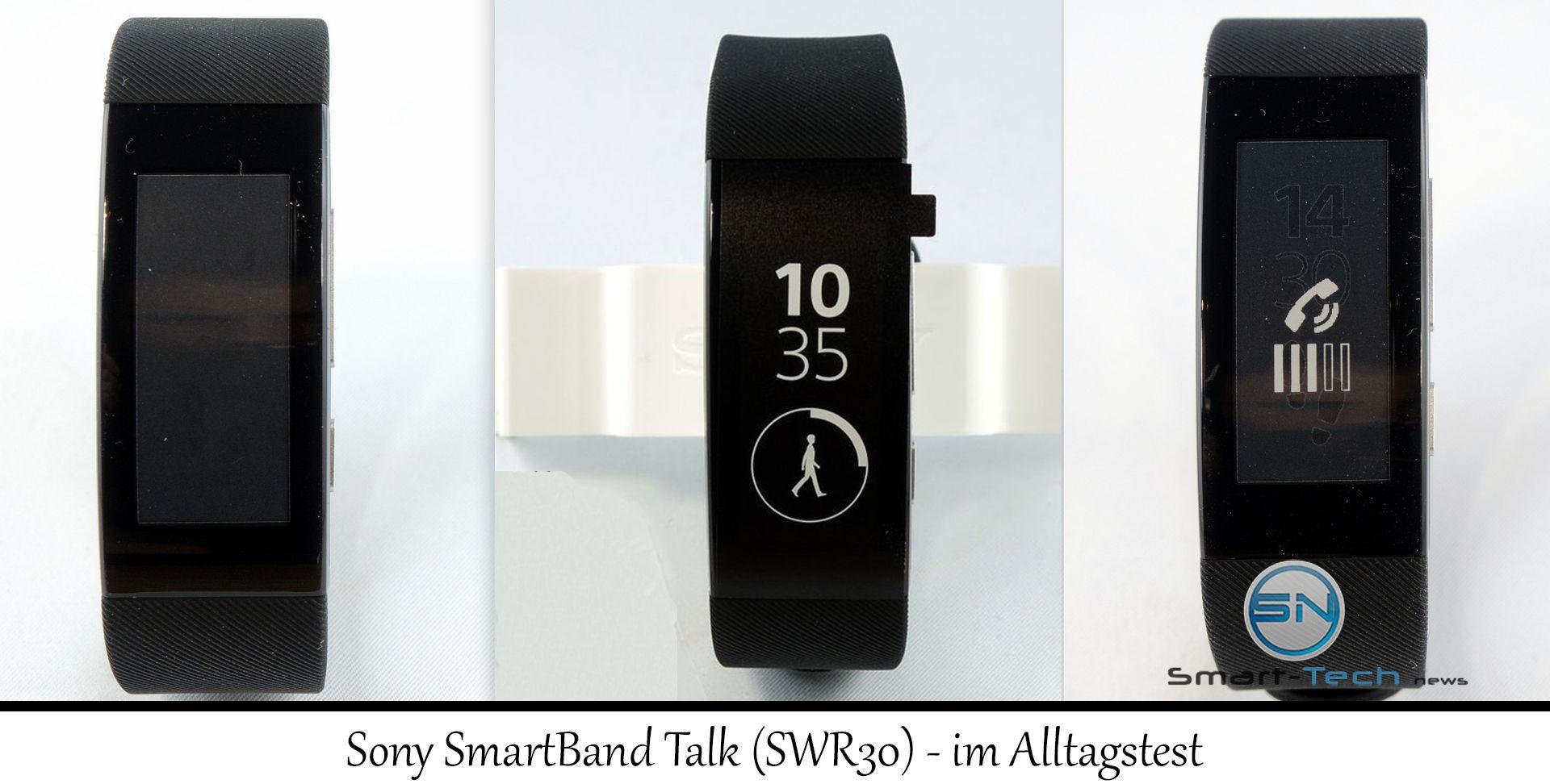 Sony Smartband Talk (SWR30) – im Alltagsplausch