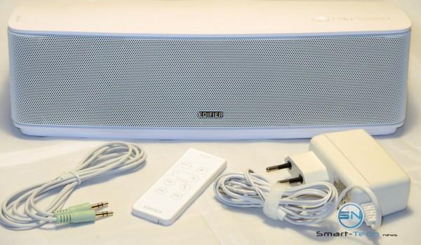 Unboxing - Edifier IF335BT Bric Connect Bluetooth-Lautsprechersystem mit Infrarot-Fernbedienung AUXIn - SmartTechNews