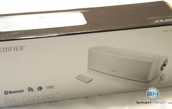 Verpackung - Edifier IF335BT Bric Connect Bluetooth-Lautsprechersystem mit Infrarot-Fernbedienung AUXIn - SmartTechNews