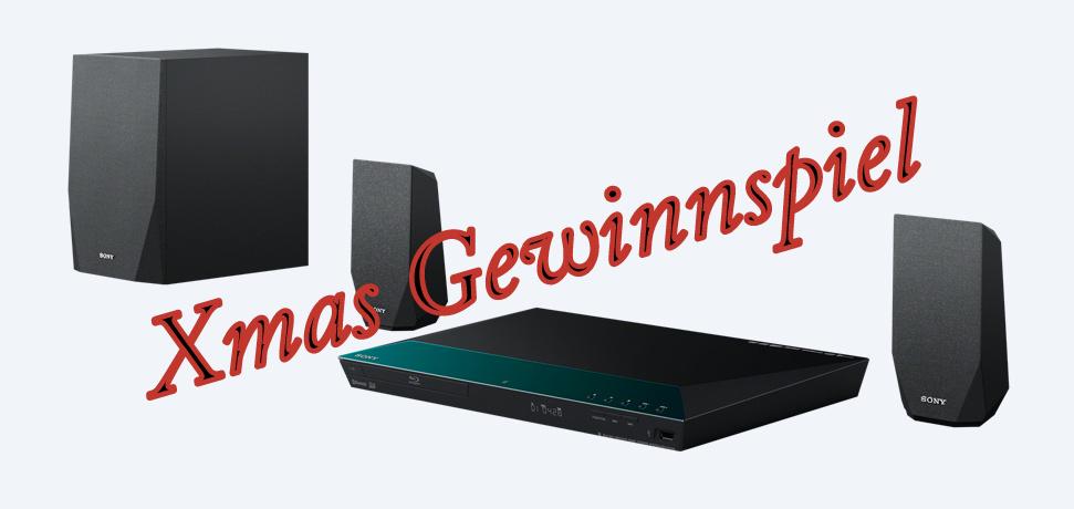Gewinne: Sony Homekino 2.1 mit 3D Blu-ray, Bluetooth, NFC, WLan