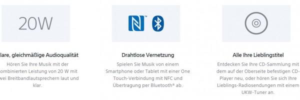das Können Sony CMT-X3CD Soundbox -SmartTechNews