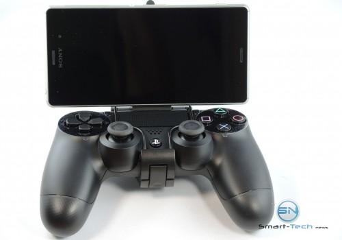 PS4 Controller mit Z3 Halterung spielbereit - SmartTechNews