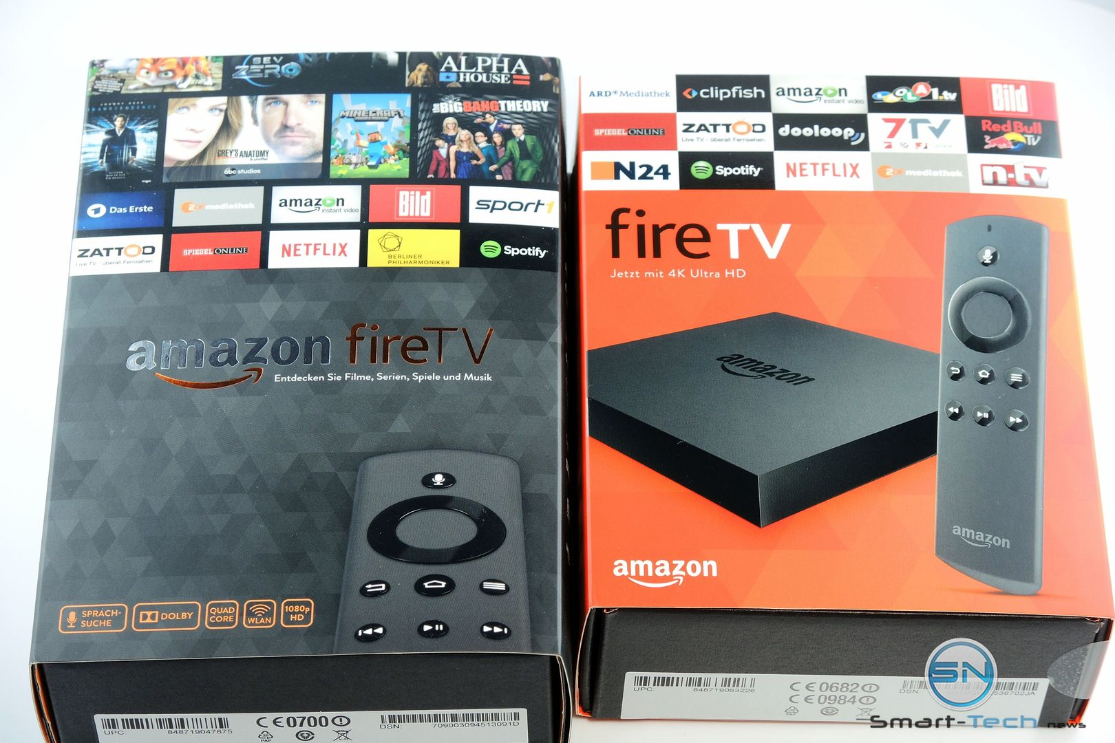 Amazon FireTV vs FireTV 4K - SmartTechNews