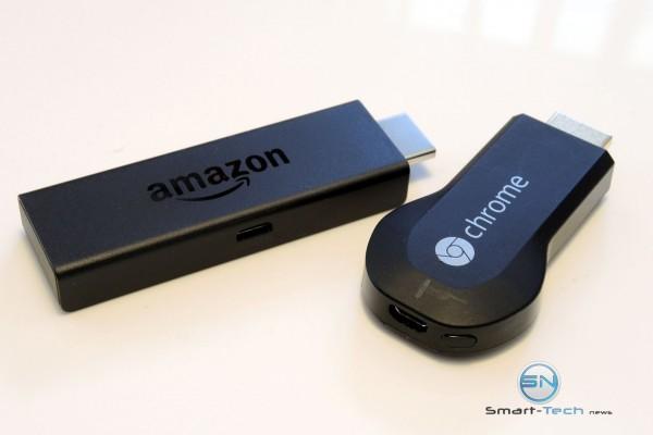 FireTV Stick vs ChromeCast - SmartTechNews